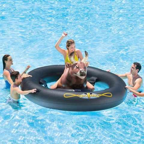 56280 - Toro rodeo meccanico Intex 56280 Inflatabull da piscina - dettaglio