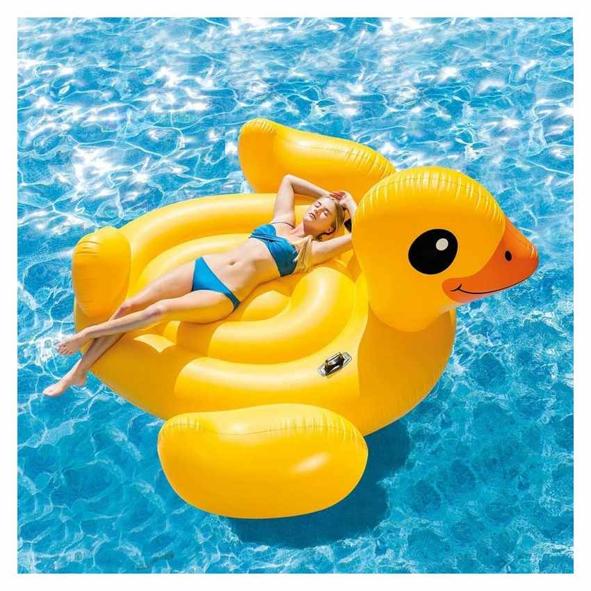 intex 56286 materassino piscina gonfiabile papera
