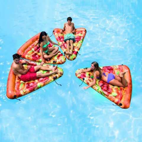 58752 - Materassino Gonfiabile Pizza Intex 58752 Slice da Piscina - economico