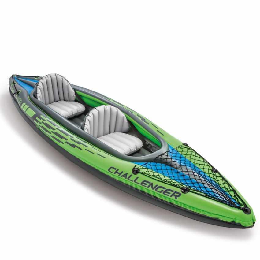 Canoa Kayak Gonfiabile Challenger K2 Intex 68306 - imagen