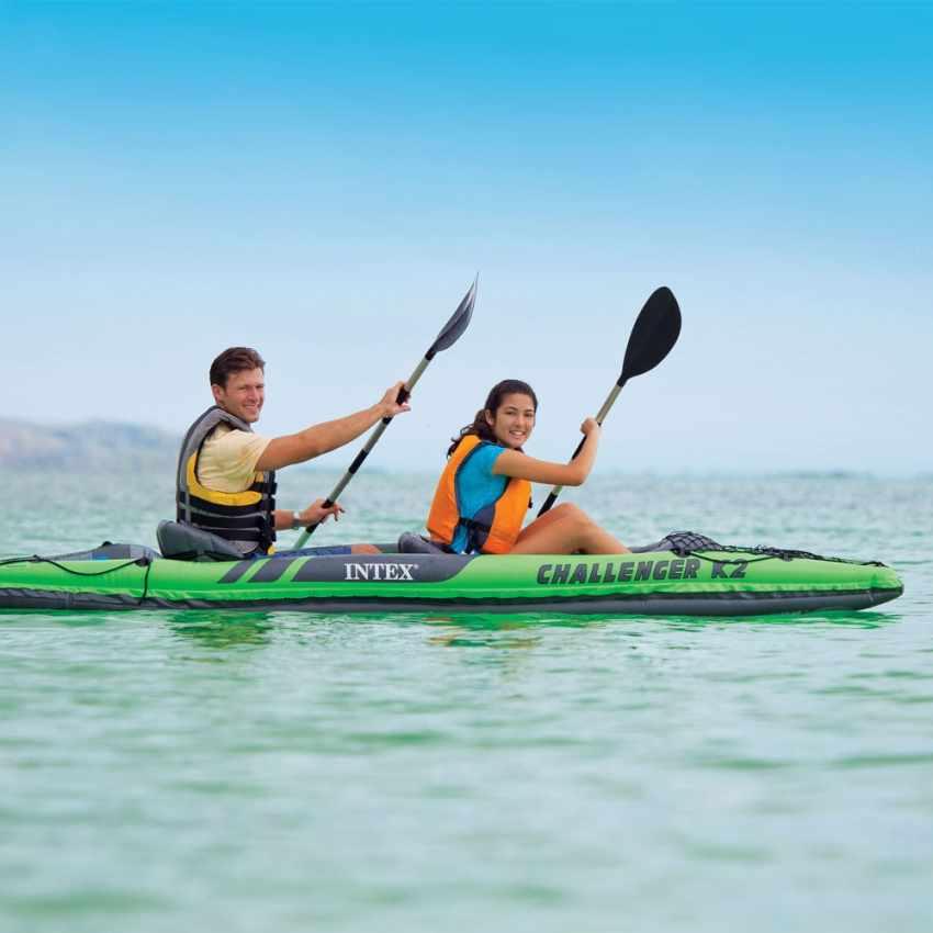 Canoa Kayak Gonfiabile Challenger K2 Intex 68306 - oferta