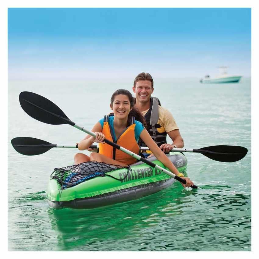 Canoa Kayak Gonfiabile Challenger K2 Intex 68306 - detalle