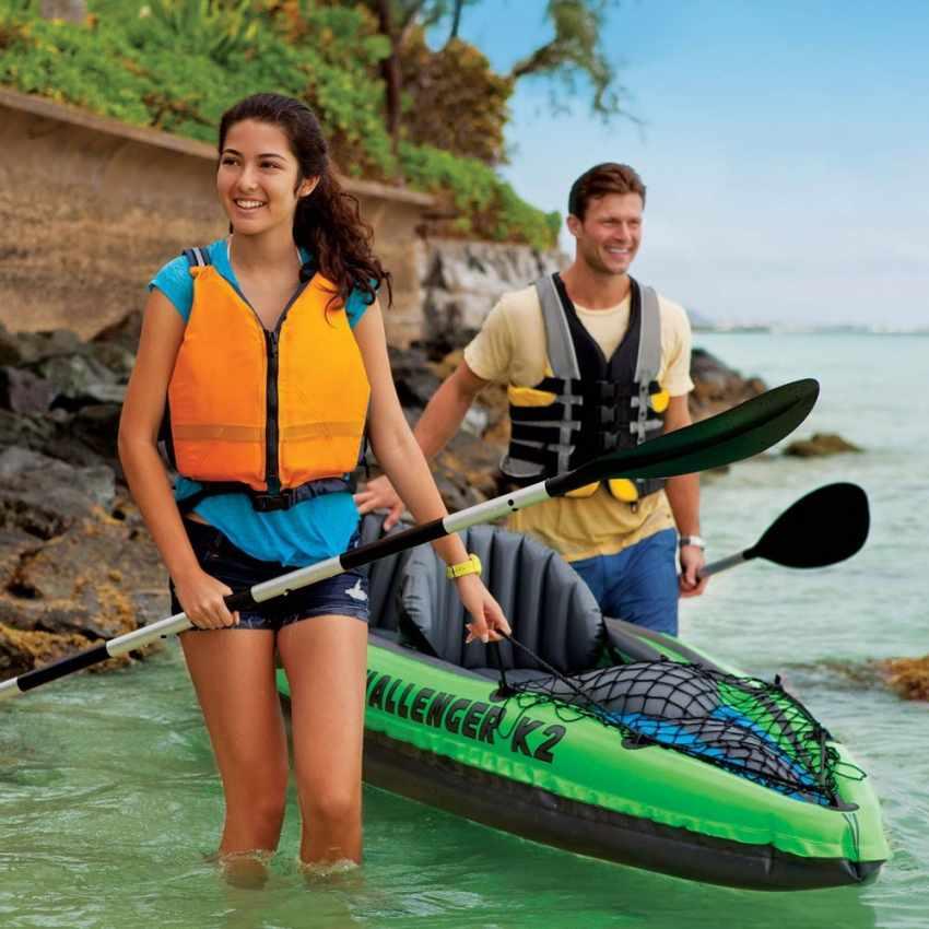 Canoa Kayak Gonfiabile Challenger K2 Intex 68306 - promo
