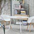 Sedie Design Scandinavo Metallo Effetto Legno DEXER per Bar e Cucina - promo