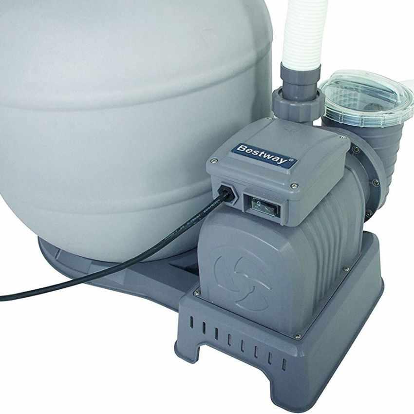 Bestway 58366 pompa filtro a sabbia per piscina fuori terra intex - Filtro piscina a sabbia ...