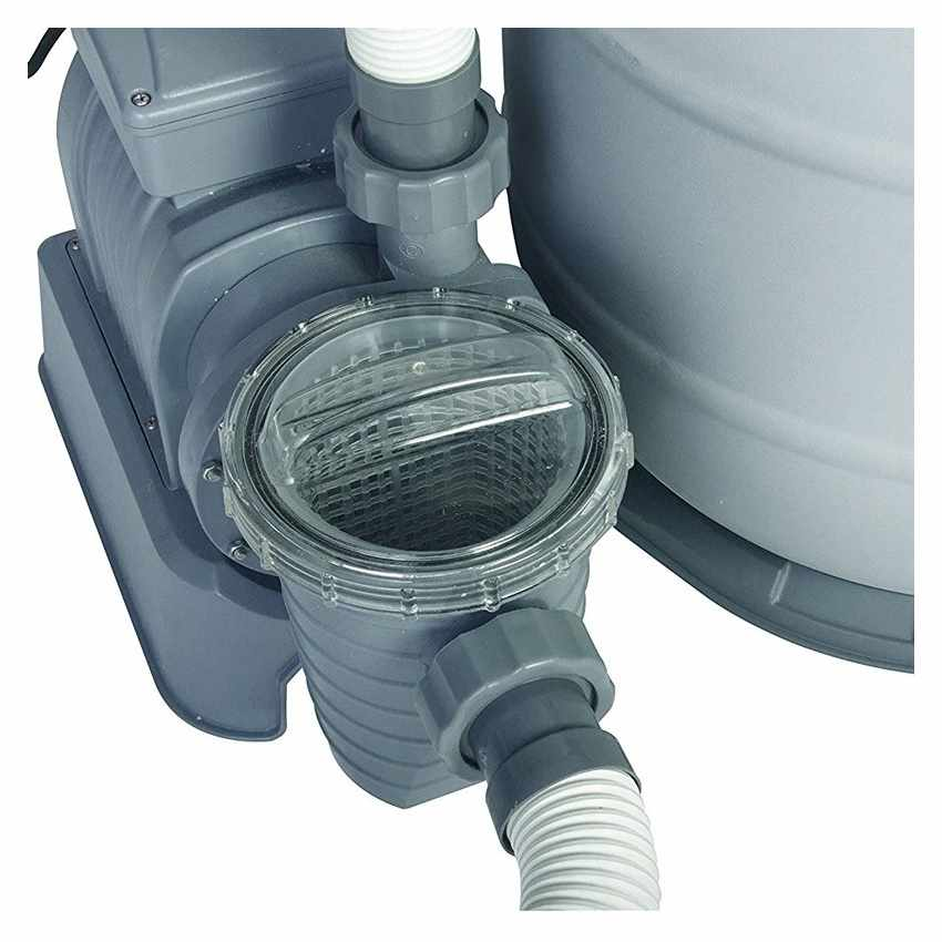 Bestway 58366 Pompa Filtro a Sabbia per Piscina Fuori Terra Intex - esterno