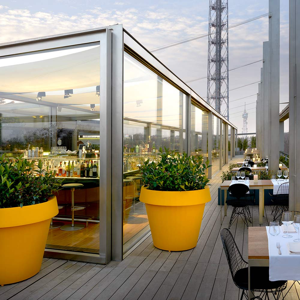 Vasi Interno Grandi Dimensioni vaso per piante grande design gio tondo slide