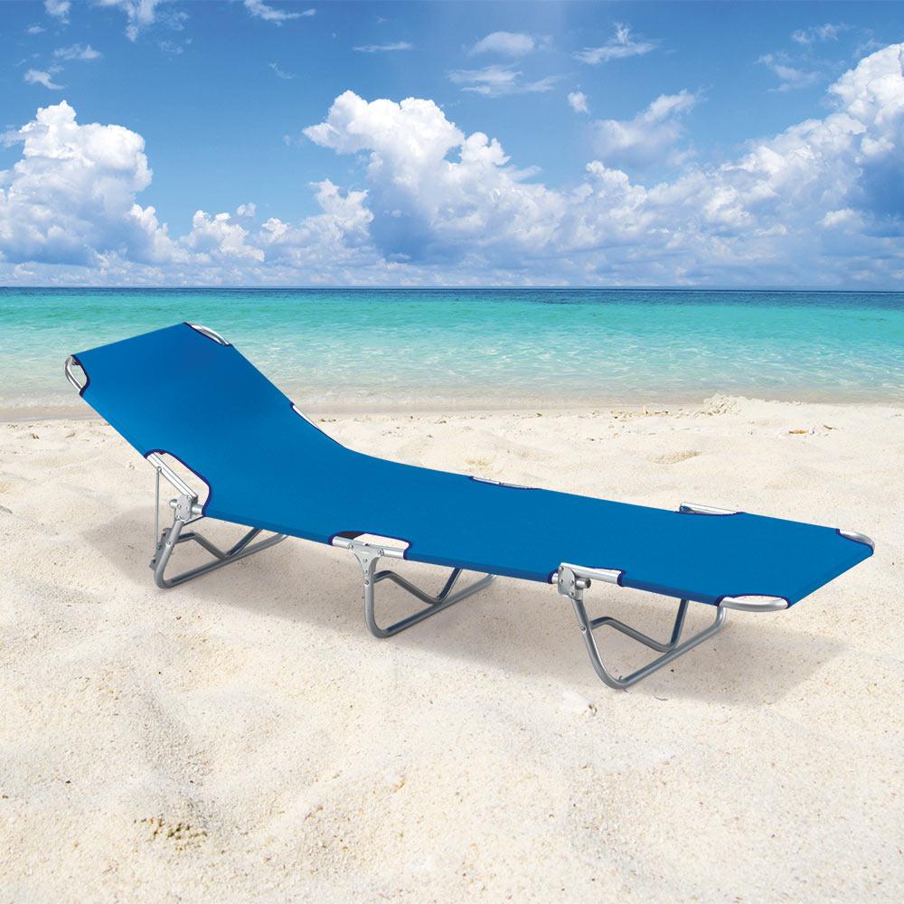 Sdraio Da Giardino Verona.Lettino Mare Sdraio Alluminio Spiaggia Piscina Maniglie Pieghevole