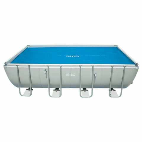 29027 - Telo termico copertura Intex 29027 per piscina 732x366cm - bianco
