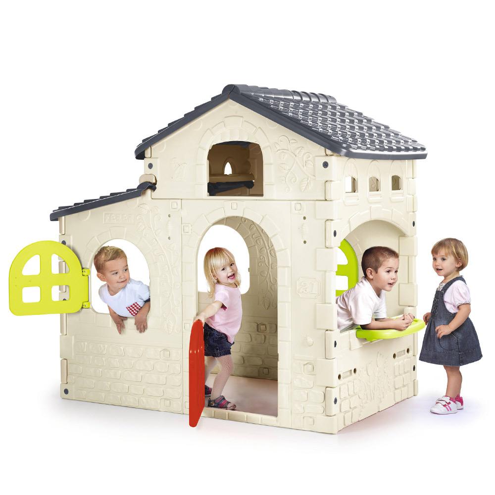 Giochi Per Bambini In Giardino casa casetta per bambini da gioco in plastica candy house feber
