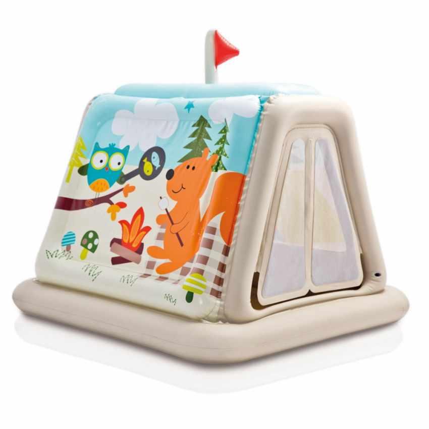 48634 - Casetta tenda gonfiabile bambini Intex 48634 casa giardino - basso prezzo