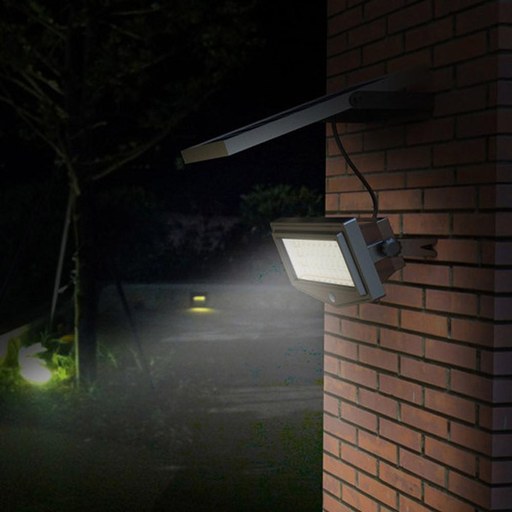 Lampada a Muro Solare Applique Led Luce Lampione Faro Faretto Esterno Giardino