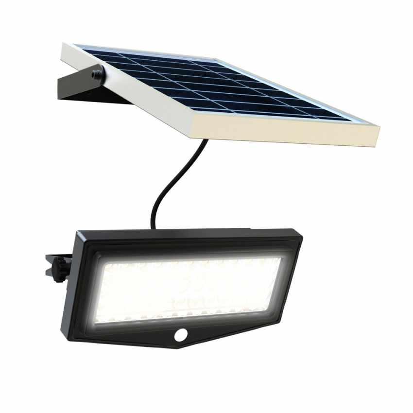 LF044LED - Faretto a muro luce led solare giardino sensore movimento FLEXIBLE NEW - basso prezzo