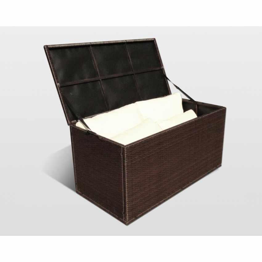 Contenitore per Cuscini da Giardino per Salotti da Esterno STORAGE BOX - interno