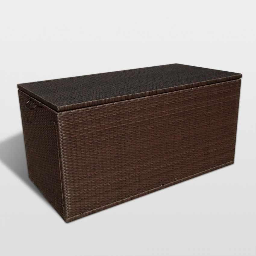 Contenitore per Cuscini da Giardino per Salotti da Esterno STORAGE BOX - dettaglio