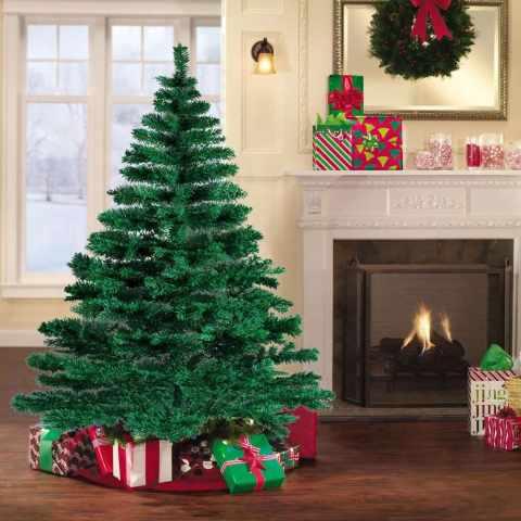 AL180NAT - Albero di Natale artificiale sintetico ecologico CORTINA 180 cm - promozione