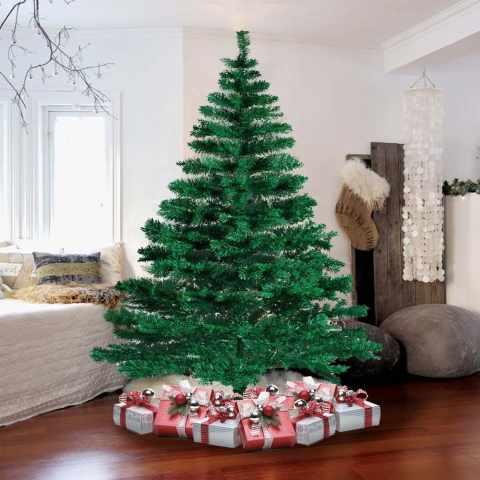 AL210NAT - Albero di Natale artificiale sintetico ecologico 210 cm - basso costo