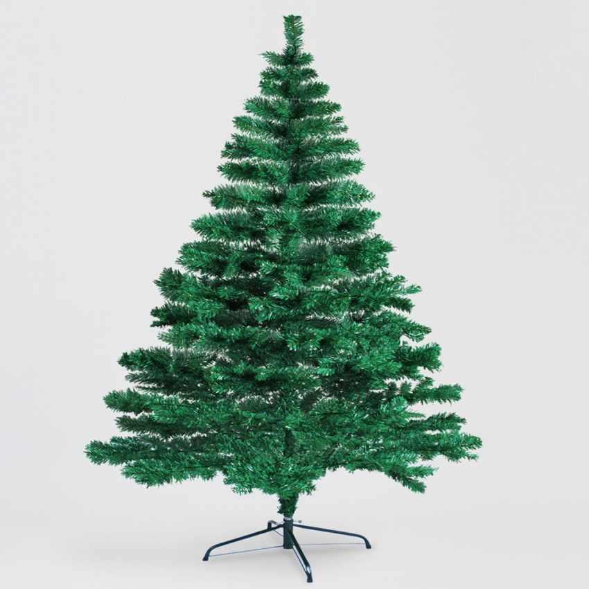 AL210NAT - Albero di Natale artificiale sintetico ecologico 210 cm - blu