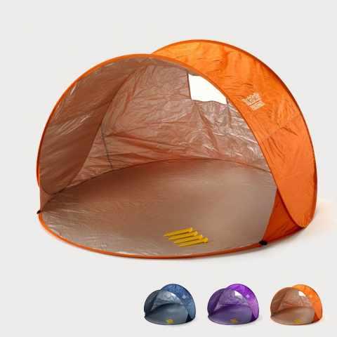 tenda spiaggia campeggio tendafacile arancione