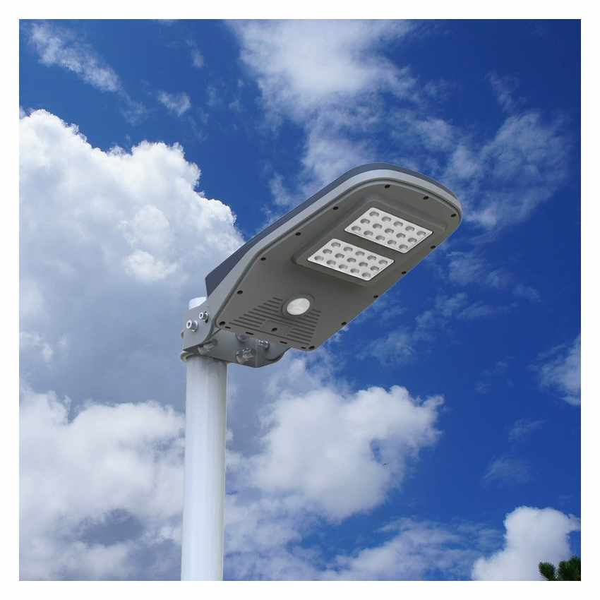 lampione led solare led telecomando