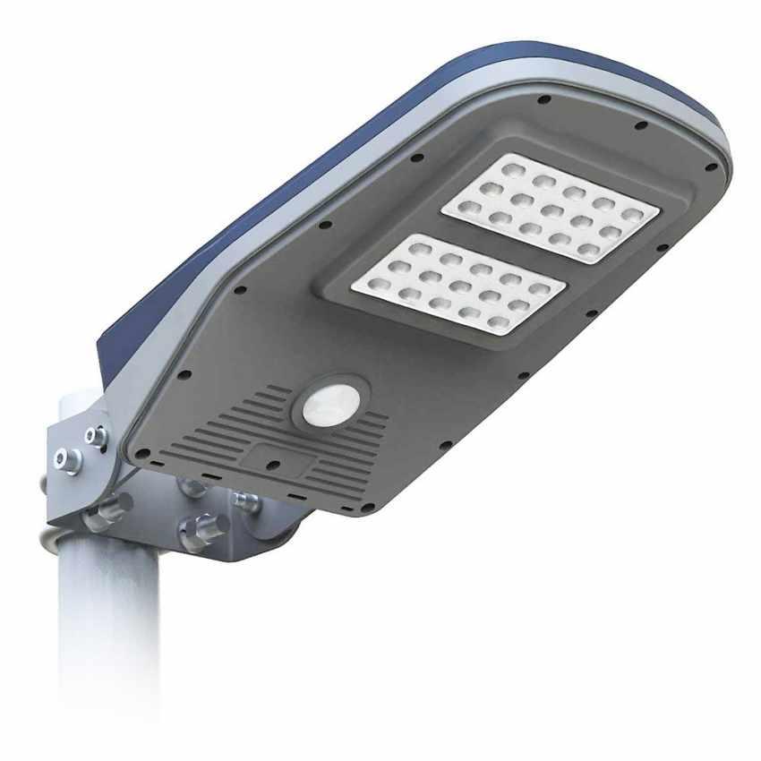 lampione luce led solare led callisto