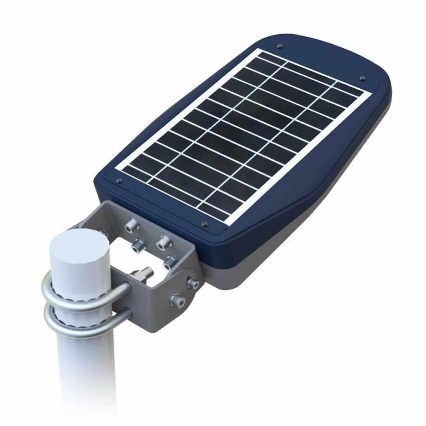 retro lampione stradale solare led telecomando callisto