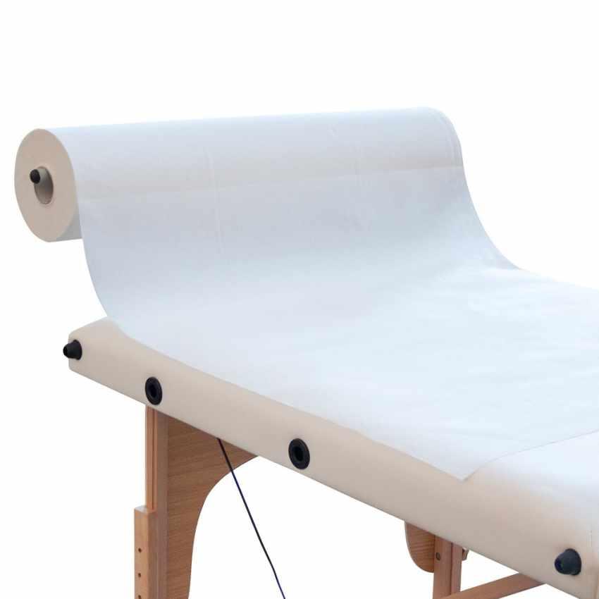 supporto portarotolo carta alluminio lettino massaggio loader professionale