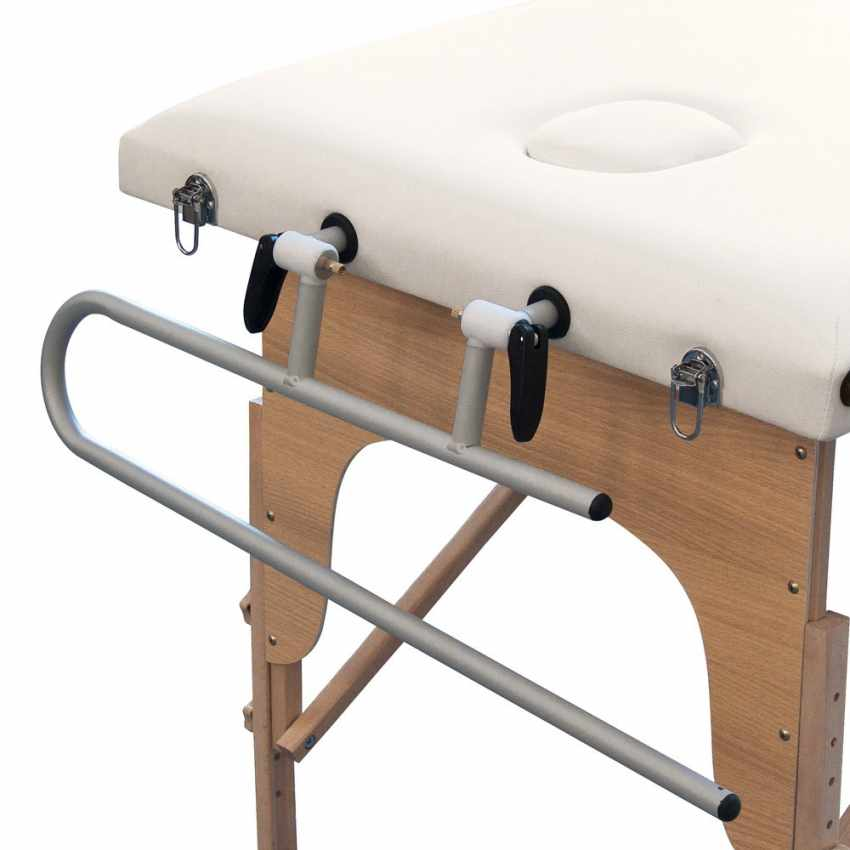 supporto portarotolo alluminio lettino massaggio loader ripiegabile professionale