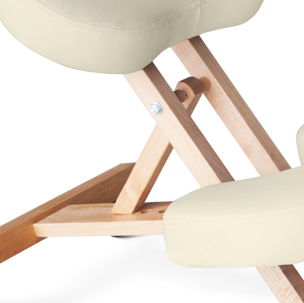 Sedia legno ortopedica sgabello svedese ufficio ergonomica ...