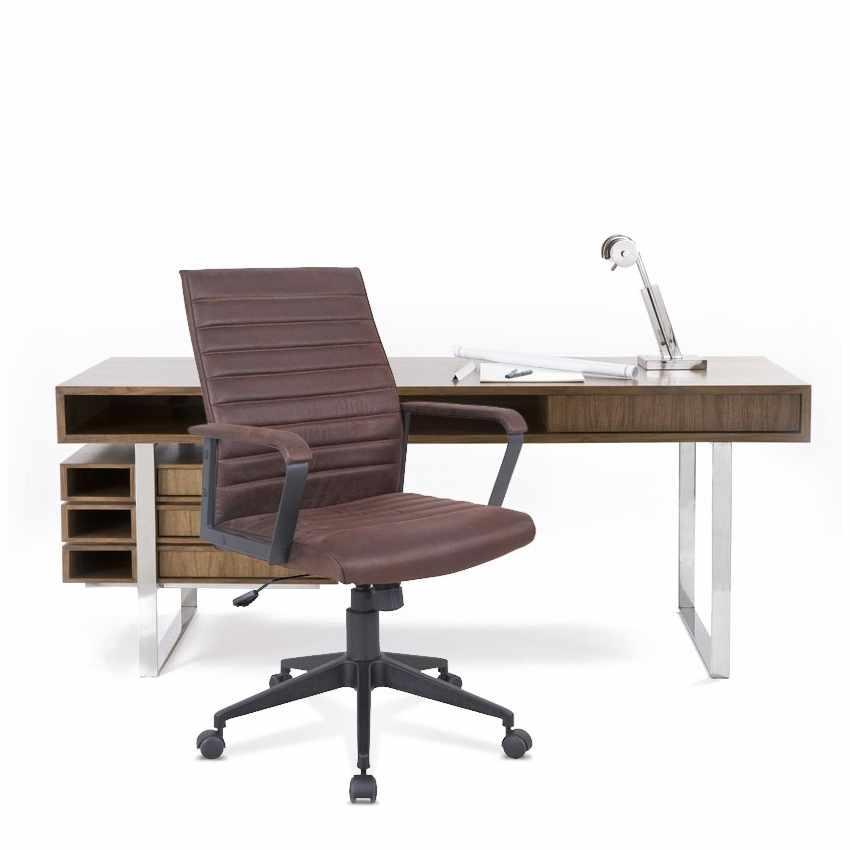 poltrona ergonomica con ruote altezza regolabile da ufficio lavoro