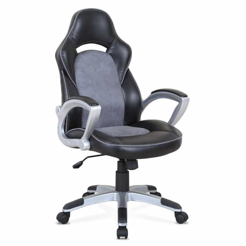 SU002RAC - Poltrona racing sedia ufficio sportiva gaming ecopelle ergonomica EVOLUTION - rosa