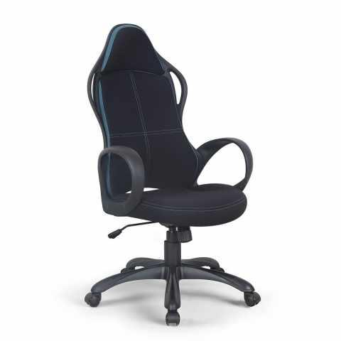 poltrona racing sedia ufficio sportiva gaming microfibra ergonomica