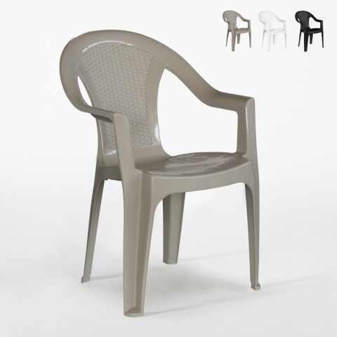 115Y70PZ - 70 Sedie da esterno Tressi in polipropilene per Sagre e Feste Offerta Stock - basso prezzo