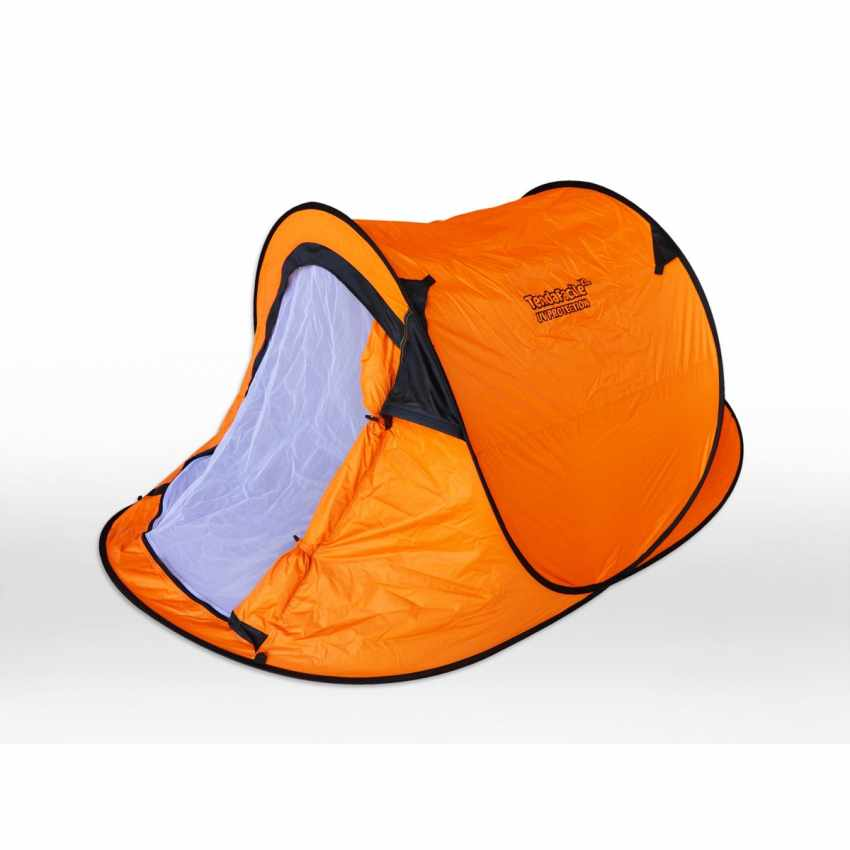 TF220UVA - Tenda da spiaggia 2 posti mare TendaFacile XL campeggio camping - arancione