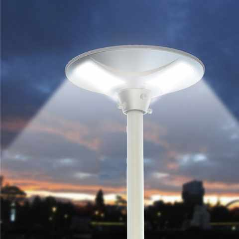 LS040LED - Lampione stradale energia solare led strade viali PLACE - marrone