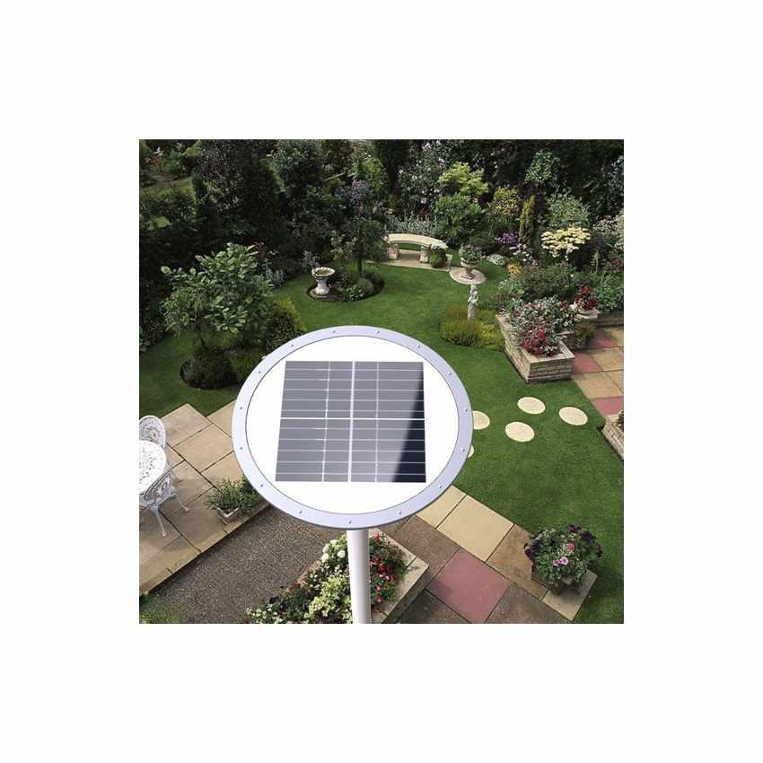 LS040LED - Lampione stradale energia solare led strade viali PLACE - retro