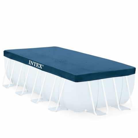 Telo copertura termica piscina intex 29028 378x186cm - Copertura invernale piscina intex ...