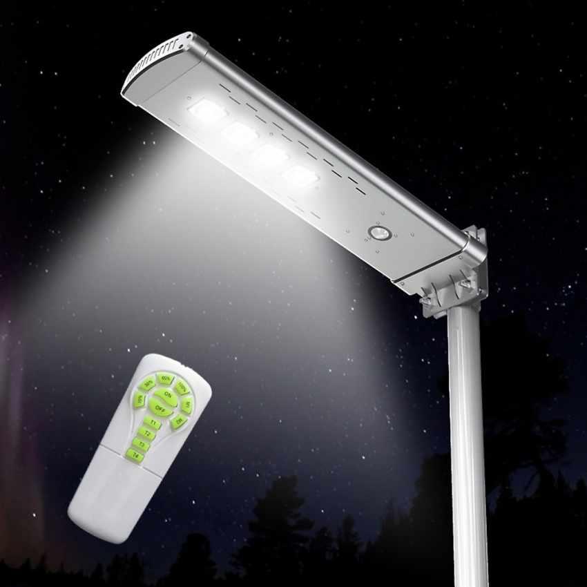 Lampione Solare LED 3K Lumen con Telecomando SMART OPTIUM - offerta