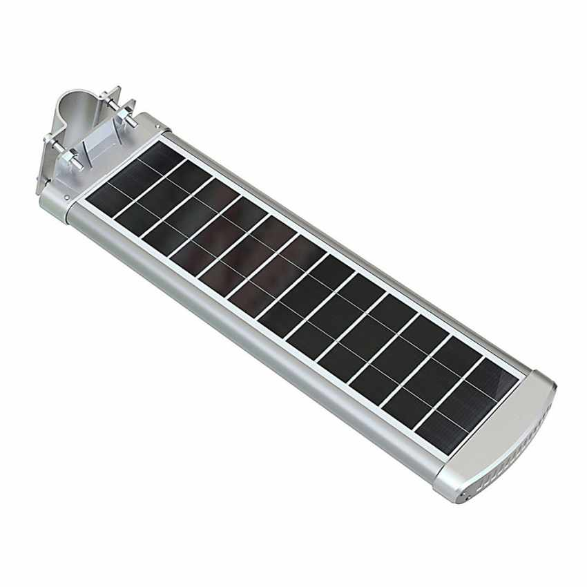Lampione Solare LED 3K Lumen con Telecomando SMART OPTIUM - dettaglio