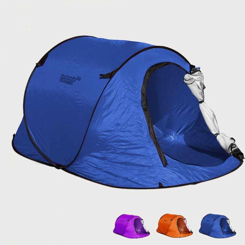 TF240UV - Tenda da spiaggia 2 posti mare TendaFacile XXL campeggio camping - retro
