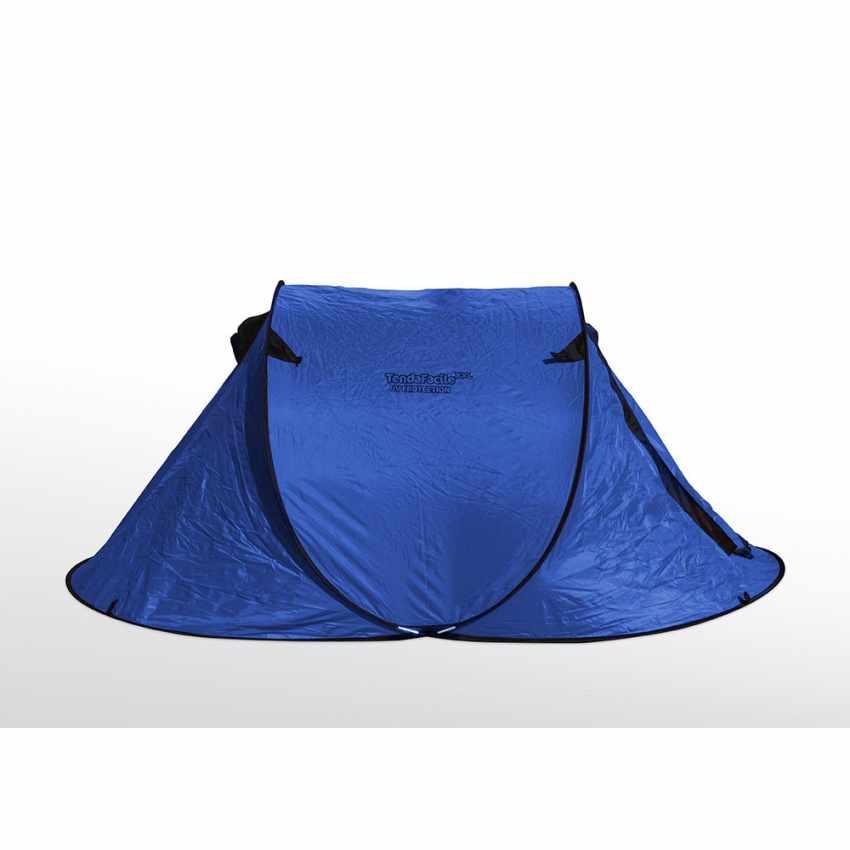 TF240UV - Tenda da spiaggia 2 posti mare TendaFacile XXL campeggio camping - nero