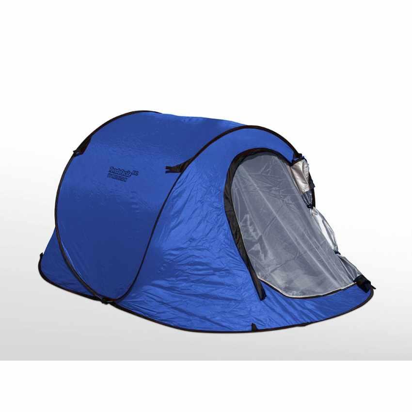 TF240UV - Tenda da spiaggia 2 posti mare TendaFacile XXL campeggio camping - trasparente