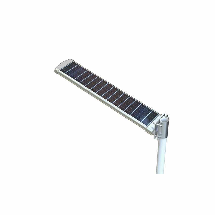 LS072LED - Lampione stradale a Led 3000 Lumen con pannello solare giardino parcheggio e strada HIGHWAY - fronte