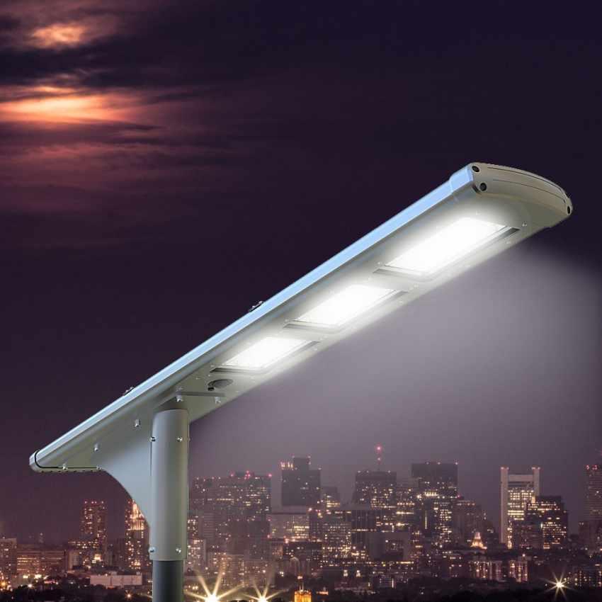 LS500LED - Lampione stradale solare FULLMOON 72 Super Led 5000 Lumen per Strade e Parcheggi - dettaglio