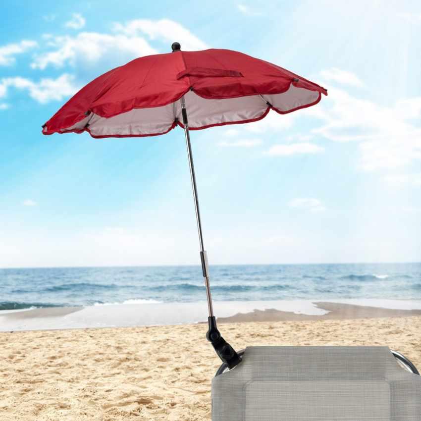 OM100UVA - Ombrellino mare bambini passeggino sedia spiaggia protezione uv CHILD - dettaglio