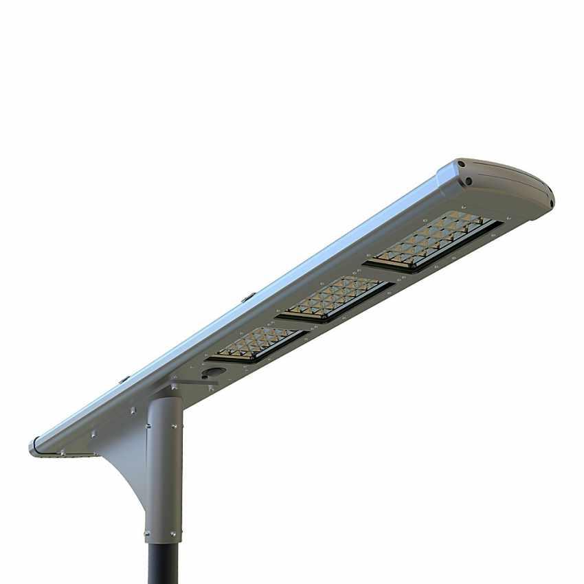 LS500LED - Lampione stradale solare FULLMOON 72 Super Led 5000 Lumen per Strade e Parcheggi - scontato