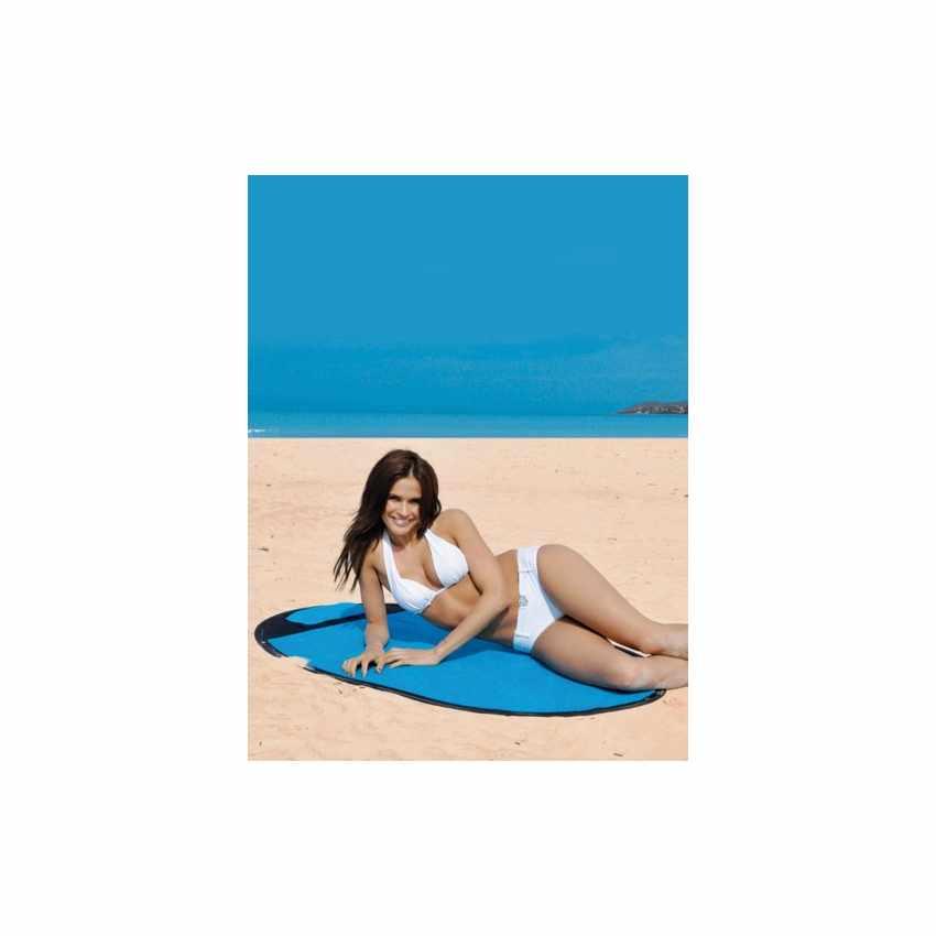 SS151CS - Telo mare antisabbia antivento impermeabile spiaggia SEMPRESTESO - verde