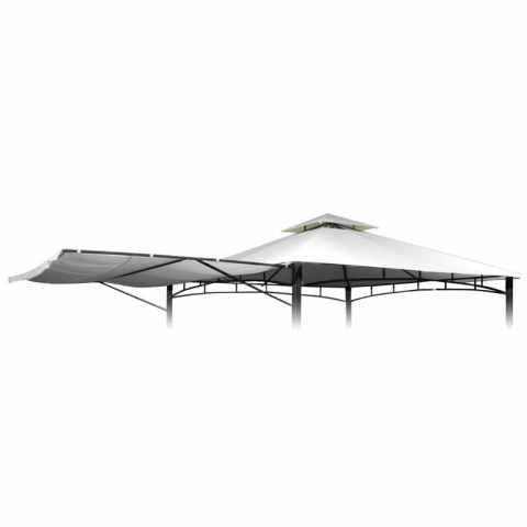 TEAN330POL - Telo ricambio 3,3x3,3 gazebo Antigua sostitutivo copertura - basso costo