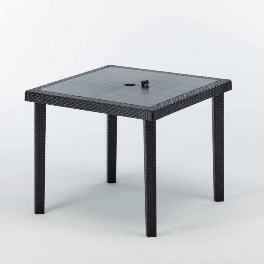 12 Tavoli bar poly rattan quadrati 90x90 Grand Soleil BOHEME - interior