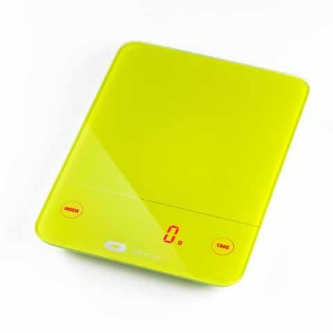 BI100IPA - Bilancia cucina digitale led TOUCH BALANCE colorata idea regalo - rosso